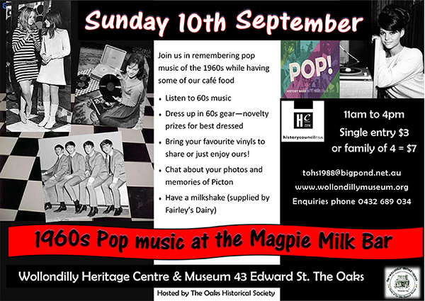 60s Magpie Milkbar
