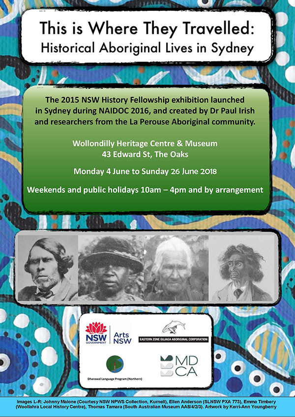 2015 NSW History Fellowship Exhibition @ Wollondilly Heritage Centre & Museum | The Oaks | New South Wales | Australia