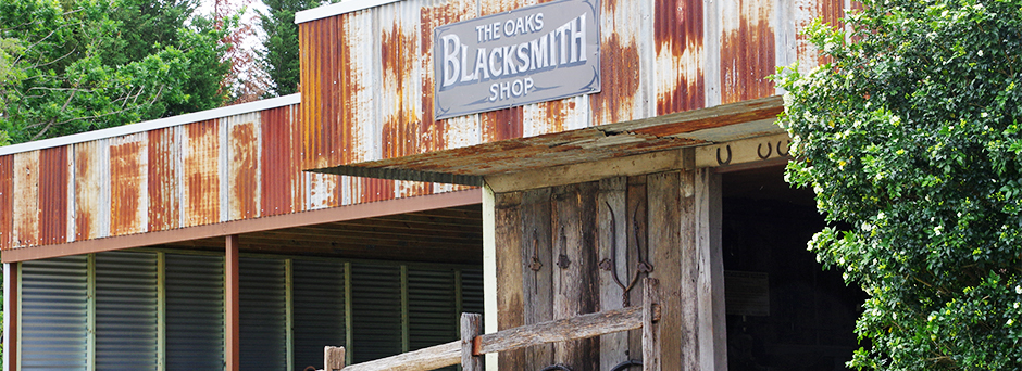 The Oaks Blacksmith Shop